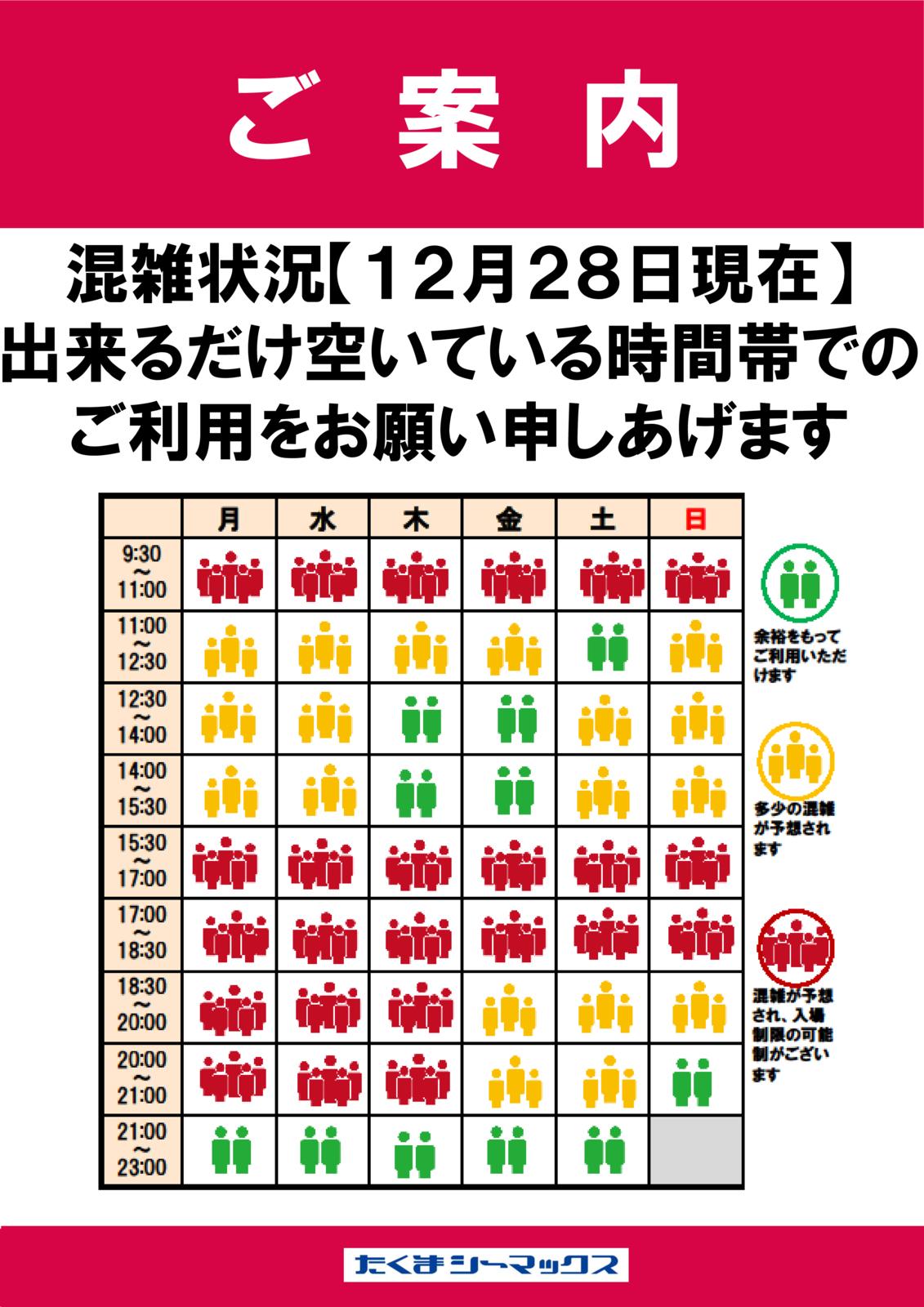 【1228】混雑状況のサムネイル