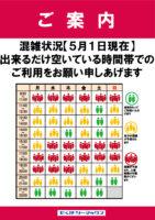 【0501】混雑状況のサムネイル